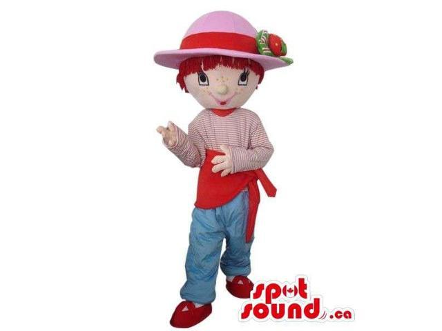 Strawberry Shortcake Children Cartoon Character Canadian SpotSound Mascot