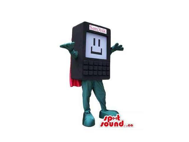 Sandisk Brand External Memory Disk Technology Device Canadian SpotSound Mascot