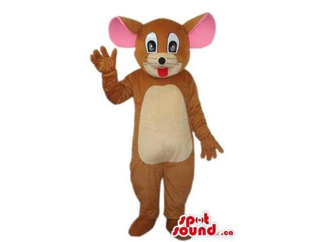 Well-Known Tom And Jerry Cartoon Mouse Character Plush Canadian SpotSound Mascot