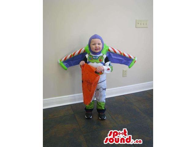 Cute Buzz Toy Story Character Toddler Child Size Costume Disguise