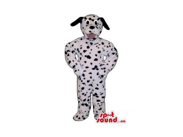 Dalmatian Dog Children Size Plush Costume Or Disguise