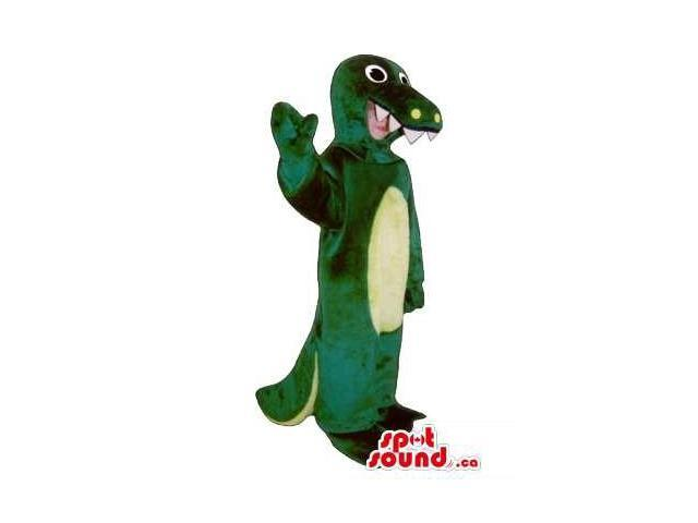 Green Dragon Children Size Plush Costume Or Disguise