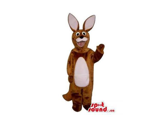 Brown Rabbit Young Ones Size Plush Costume Or Disguise