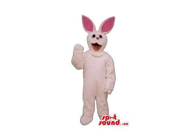 White Rabbit Young Ones Size Plush Costume Or Disguise