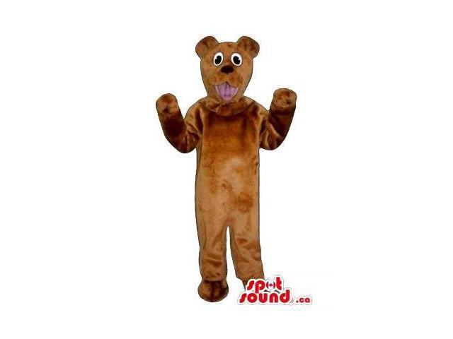 Brown Bear Children Size Plush Costume Or Disguise