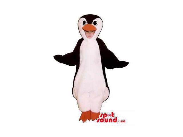 Cute Penguin Children Size Plush Costume Or Disguise