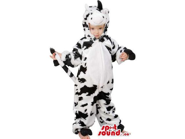 Cute Children'S Cow Costume Available In Many Sizes
