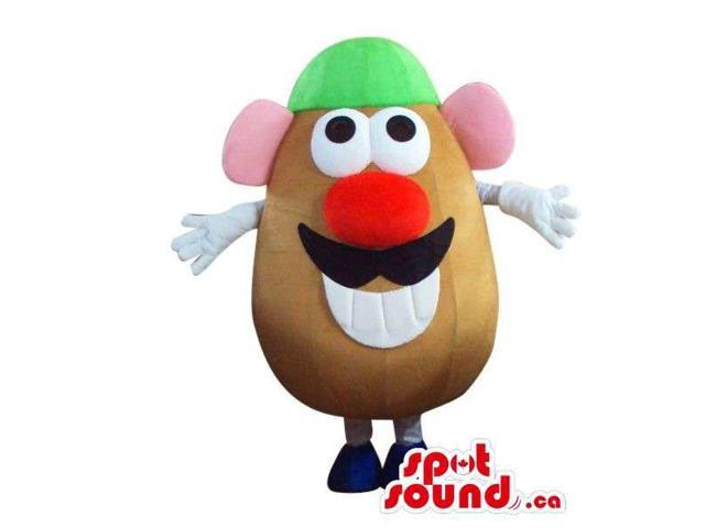 Well-Known Mr. Potato Toy Character Plush Canadian SpotSound Mascot With Red Nose