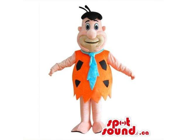 Well-Known The Flintstone'S Cartoon Character Plush Canadian SpotSound Mascot: Fred