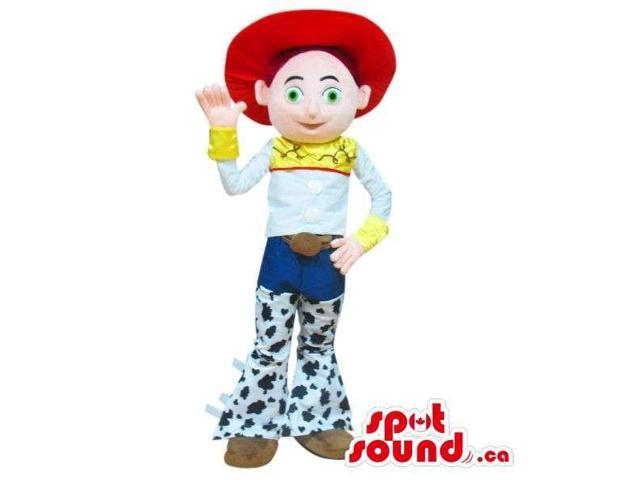 Cute Well-Known Cowgirl Toy Story Character Plush Canadian SpotSound Mascot