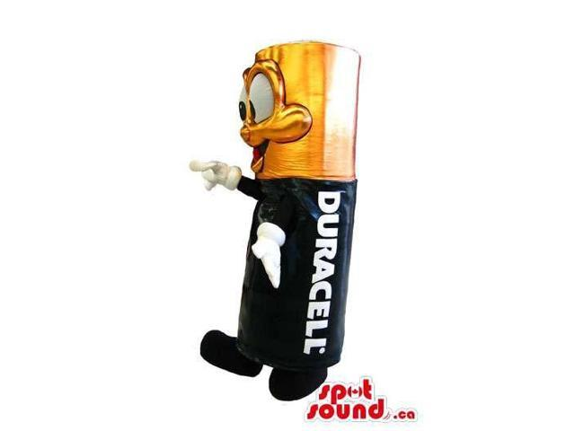 Customised Peculiar Duracell Triple-A Battery Canadian SpotSound Mascot