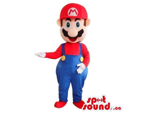Mario Bros. Mario Video Game Character Adult Size Costume