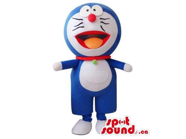 Well-Known Doraemon Cartoon Character Cosmic Cat Plush Canadian SpotSound Mascot
