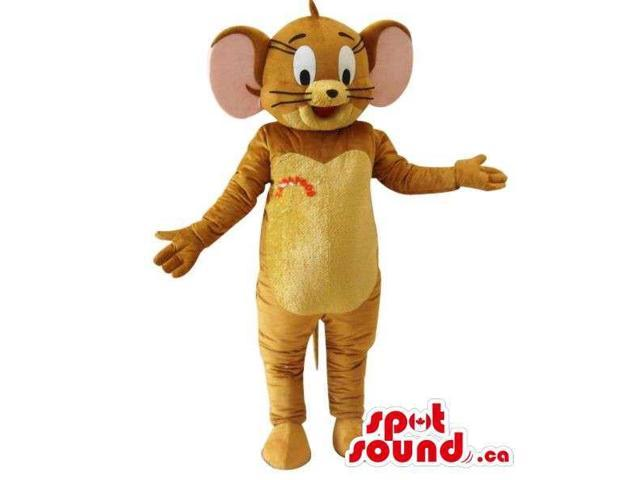 Well-Known Tom And Jerry Cartoon Character Mouse Plush Canadian SpotSound Mascot