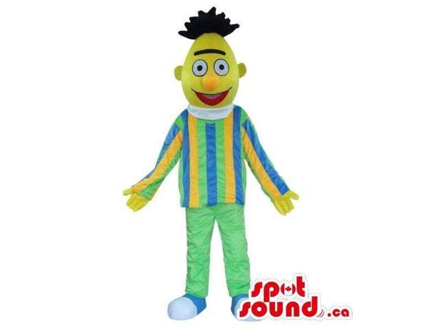 Well-Known Yellow Muppet Sesame Street Character Canadian SpotSound Mascot