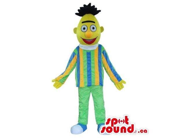 Well-Known Yellow Muppet Sesame Street Character Canadian SpotSound Mascot