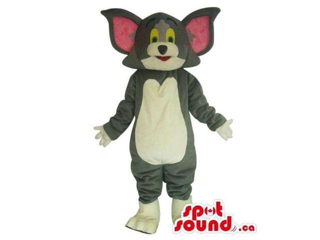 Well-Known Tom And Jerry Alike Cartoon Character Cat Plush Canadian SpotSound Mascot
