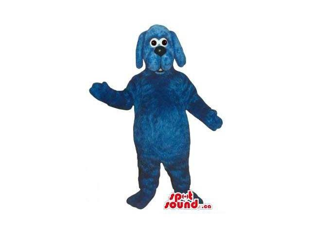 Customised All Blue Dog Pet Friend Animal Plush Canadian SpotSound Mascot