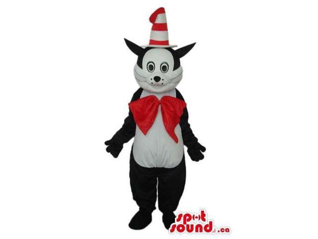 Cat In The Hat Cartoon Children'S Story Plush Canadian SpotSound Mascot