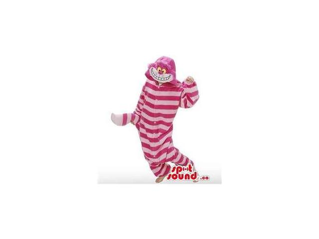 Alice In Wonderland Cat Adult Size Plush Costume Or Canadian SpotSound Mascot