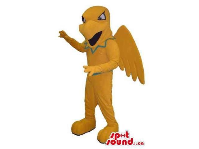 All And Customised Yellow Dinosaur With Large Wings