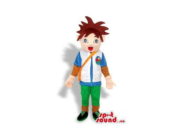 Dora The Explorer Cartoon Tv Series Main Boy Character