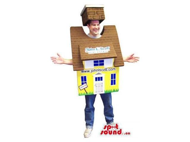 Advertising House Costume For Real Estate Or Property Sales