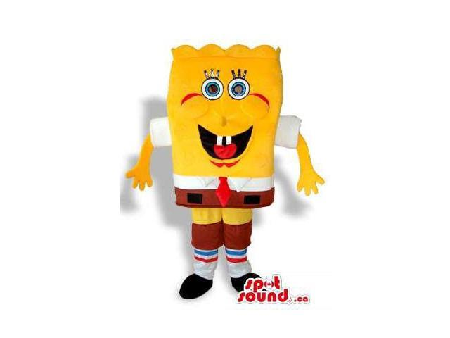Sponge Bob Square Pants Cartoon Character Plush Canadian SpotSound Mascot