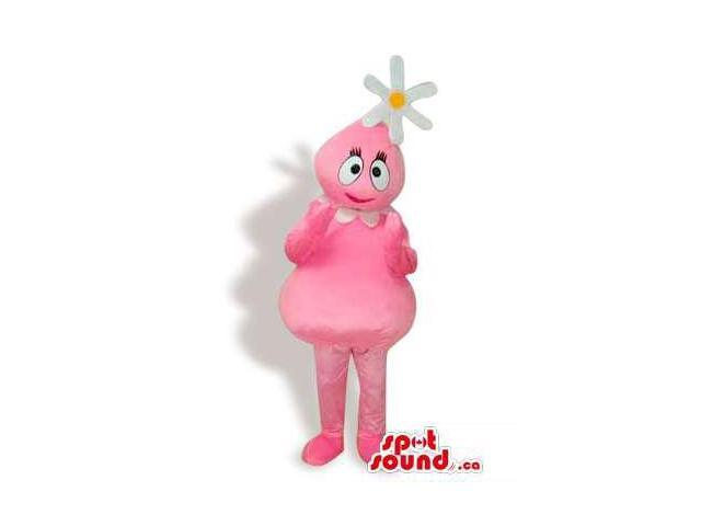 Foofa Pink Girl Yo Gabba Gabba Cartoon Character Canadian SpotSound Mascot