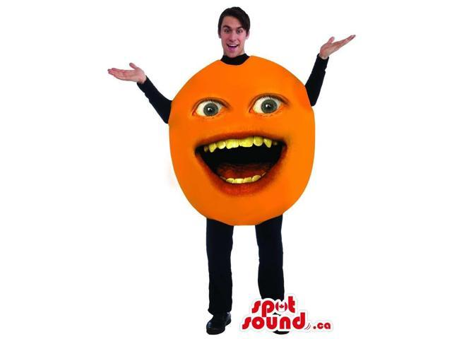 Annoying Orange Viral Internet Character Adult Size Costume