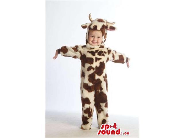 Cool Giraffe Pattern Animal Plush Children Size Costume