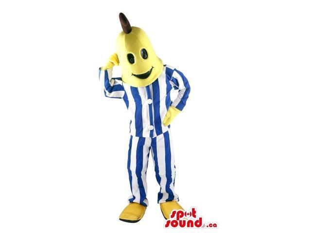 Cool Well-Known Bananas In Pyjamas Character Plush Canadian SpotSound Mascot
