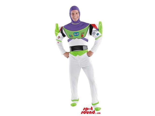 Large Buzz Astronaut Toy Story Character Adult Size Costume