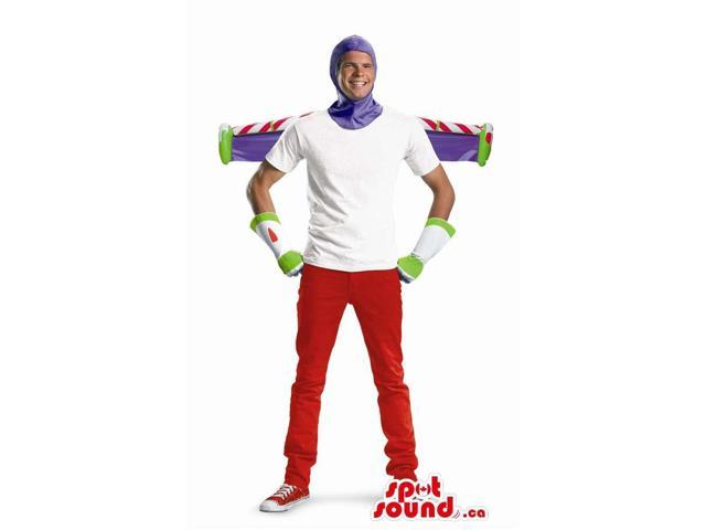 Buzz Astronaut Toy Story Character Adult Size Half-Costume