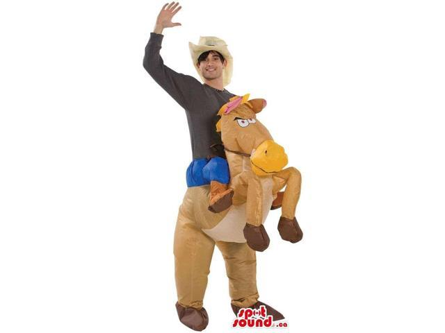 Great Donkey Walker Two-In-One Adult Size Costume
