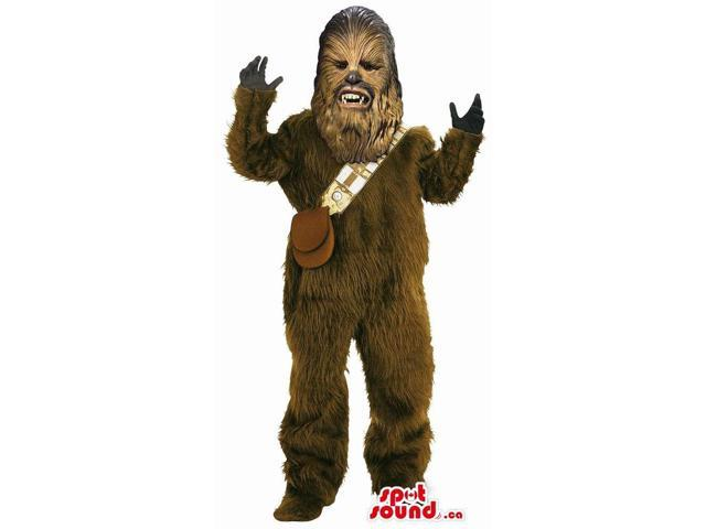 Jedi Star Wars Movie Character Adult Size Costume Or Canadian SpotSound Mascot