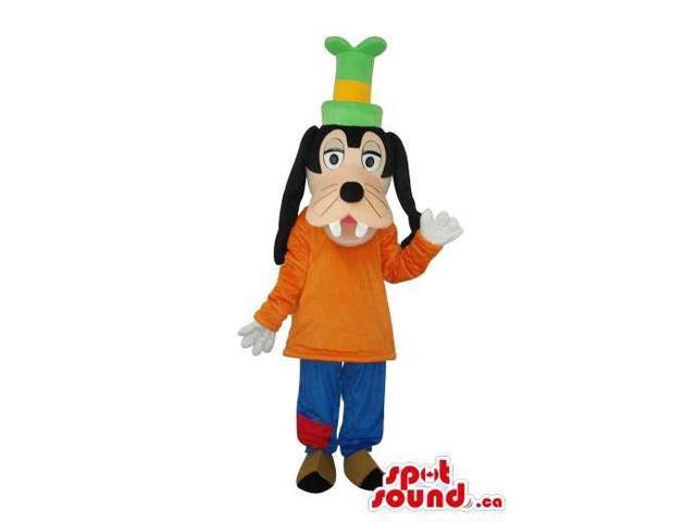 Goofy Dog Well-Known Cartoon Disney Character Canadian SpotSound Mascot