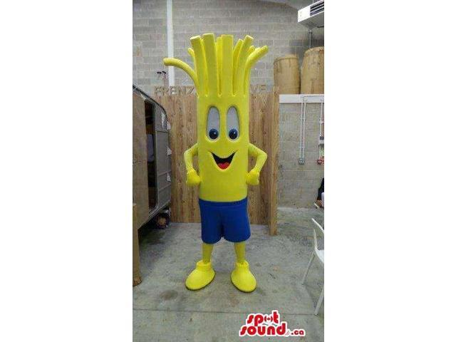 Yellow Fairy-Tale Vegetable Plush Canadian SpotSound Mascot With A Cute Face
