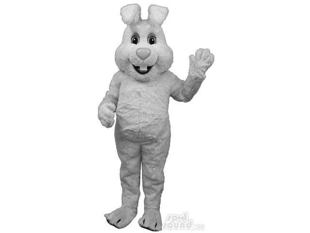 Customised All Grey Rabbit Bunny Animal Plush Canadian SpotSound Mascot