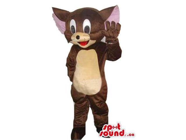 Tom And Jerry Cartoon Character Jerry Mouse Plush Canadian SpotSound Mascot