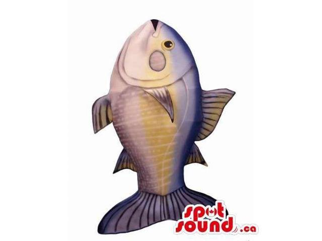 Customised Great Real-Looking Large Tuna Fish Canadian SpotSound Mascot