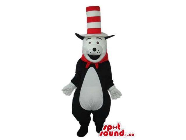 The Cat In The Hat Cartoon Children'S Story Character Canadian SpotSound Mascot