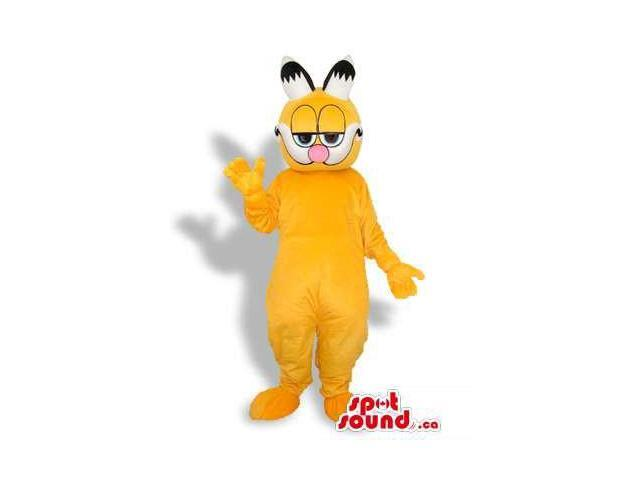 Garfield The Cat Well-Known Cartoon Character Plush Canadian SpotSound Mascot