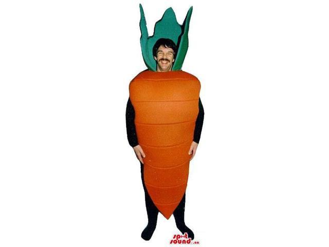 Customised Carrot Vegetable Adult Size Costume Or Canadian SpotSound Mascot