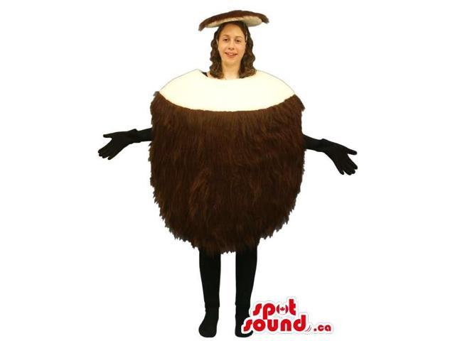 Customised Chestnut Adult Size Costume Or Canadian SpotSound Mascot