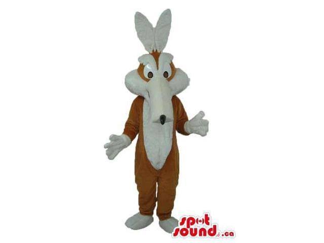 Customised Wile E. Coyote Cartoon Character In White