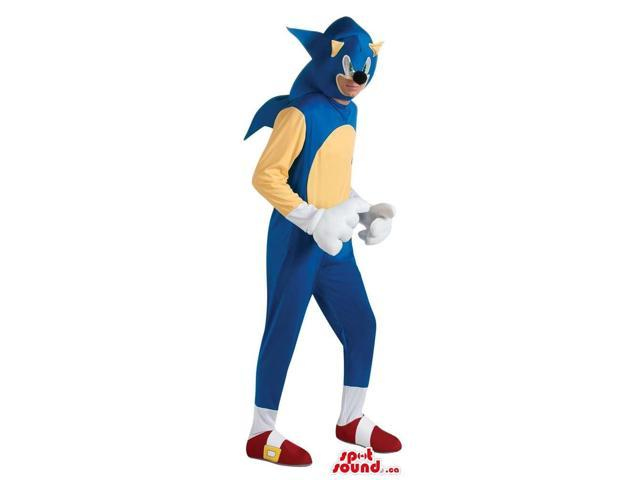 Sonic The Hedgehog Video Game Character Adult Size Costume