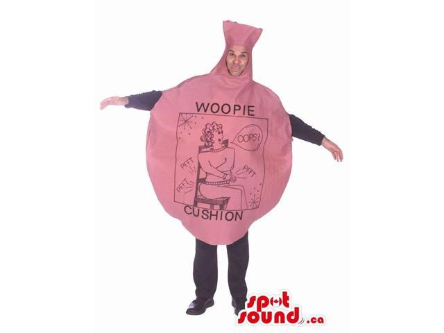 Hilarious Whoopee-Cushion Joke Adult Size Costume Disguise