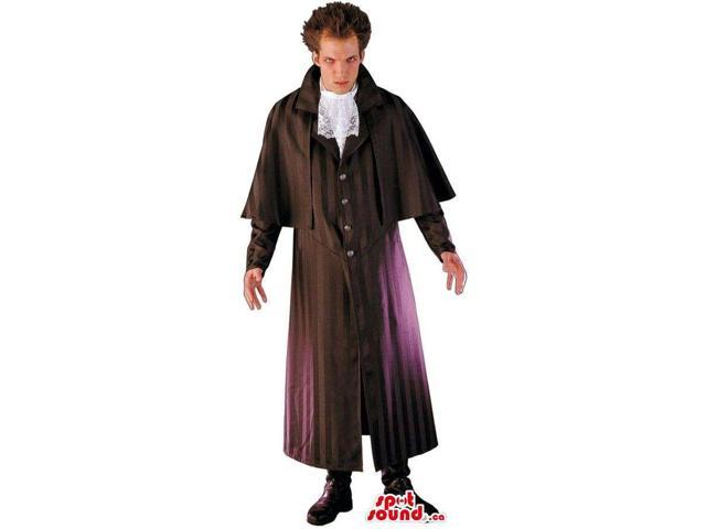 Great Halloween Count Dracula Or Vampire Adult Costume