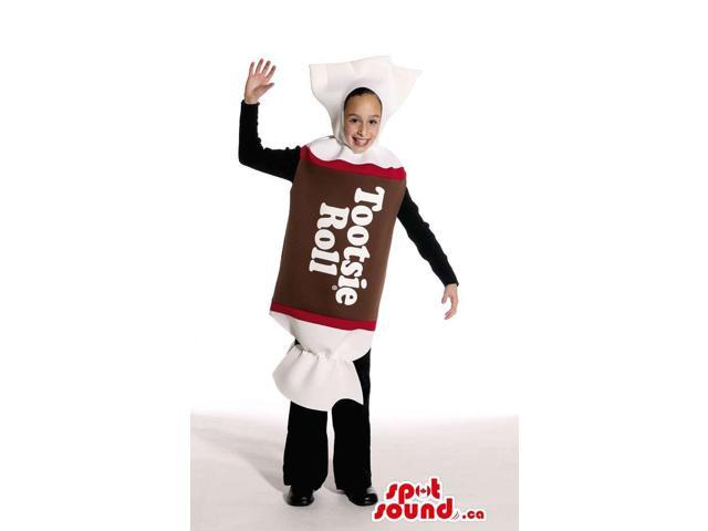 Large Tootsie Roll Wrapped Candy Children Size Costume